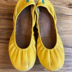 ☀️EUC Mustard Yellow Tieks Sz 7 ☀️